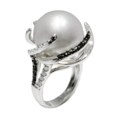 41019 brilliant white 037ct black 042ct pearl 1566mm 2