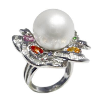 51008 brilliant 107ct sapphire 250ct pearl 1357ct 2