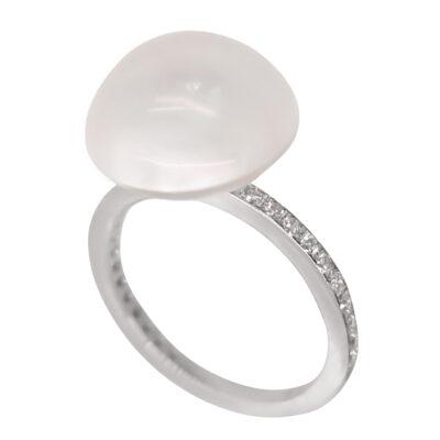 brilliant 030ct pearl 13 14mm 2