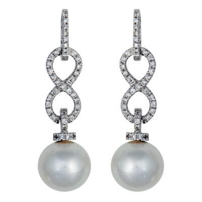 brilliant 062ct pearls 11 12mm 2