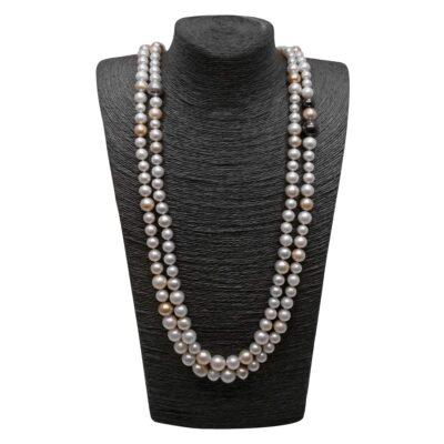 Η Πέγκυ Σταθακοπούλου με Κοσμήματα από το Pearls Center