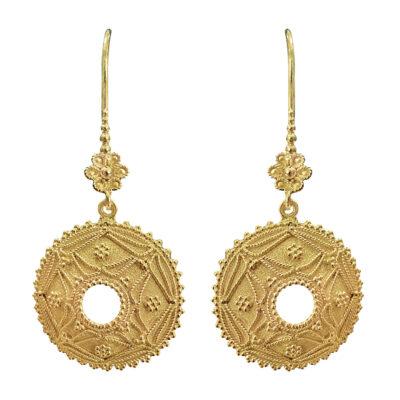 Boukla 18K gold Earrings